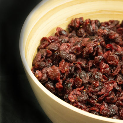 Cranberries Sliced